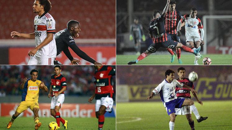 Na quinta, o Flamengo sofreu a maior goleada de sua história na Copa Libertadores ao ser derrotado por 5 a 0 para o Independiente Del Valle, em Quito. A equipe jogou mal, foi envolvida pela marcação alta dos equatorianos, e praticamente não incomodou o adversário. Com isso, o LANCE! traz uma lista com 20 vexames da história do rubro-negro.