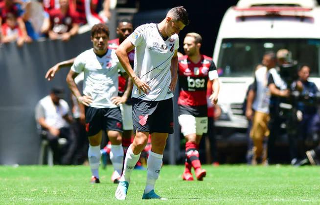 Na redação do LANCE!, o Athletico-PR recebeu 13 votos como uma das equipes que ficam pelo caminho da Copa Libertadores deste ano.