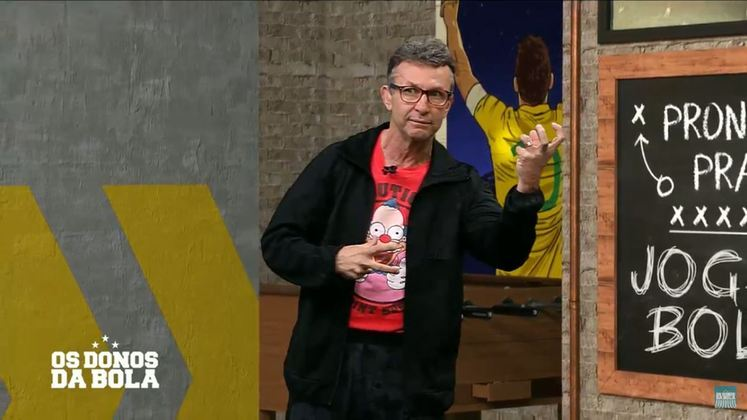 Na reta final do Brasileirão de 2021, o apresentador Neto afirmou que ficaria pelado se o Internacional fosse campeão da competição.