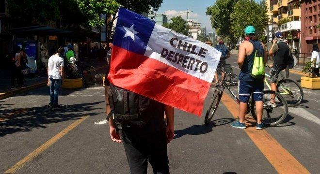 'Chile despertou': esta tem sido uma frase protagonista nas manifestações pelo país