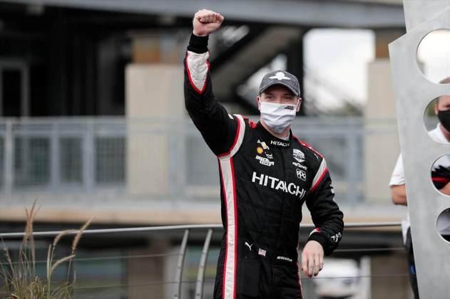 Na segunda corrida no misto de Indianápolis, Newgarden mostrou a vontade de brigar pelo título. Vitória, com Dixon em nono