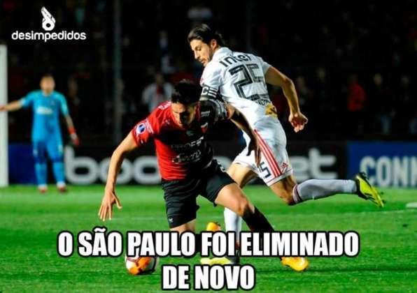 Na segunda rodada da Copa Sul-Americana, o São Paulo foi eliminado nos pênaltis pelo Colón-ARG