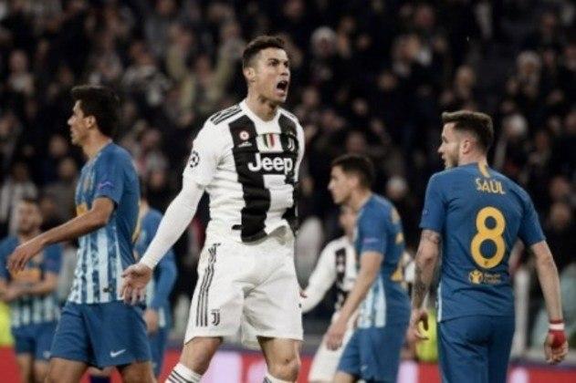 Na temporada 2018-19, a Juventus perdeu de 2 a 0 para o Atlético de Madrid no Wanda Metropolitano, no jogo de ida das oitavas de final. No entanto, a Velha Senhora viu sua maior contratação, o português Cristiano Ronaldo, fazer um hat-trick em casa e conquistar a vaga para as quartas.