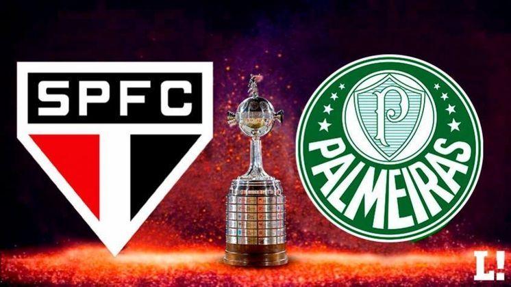 Na terça-feira (10), São Paulo e Palmeiras começam a decidir uma vaga nas semifinais da Libertadores. Até aqui, o Tricolor nunca perdeu para o Alviverde na competição em oito jogos. Veja todos os números nessa galeria.