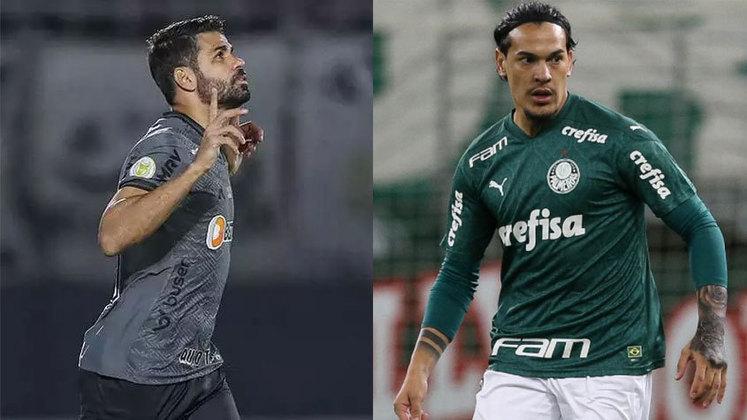 Na terça-feira (21), às 21h30, Atlético-MG e Palmeiras fazem o primeiro duelo das semifinais da Libertadores 2021. As duas equipes tem elencos repleto de estrelas, mas qual será que tem o maior valor de mercado? Confira a comparação entre os times, segundo o site Transfermarkt