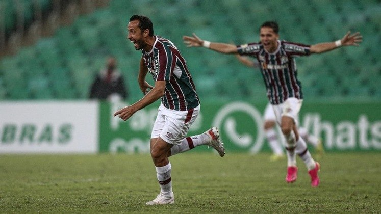 Na última quinta-feira, Nenê marcou o gol da vitória sobre o Santos, no Maracanã. No dia em que completou 100 jogos com a camisa do Fluminense.