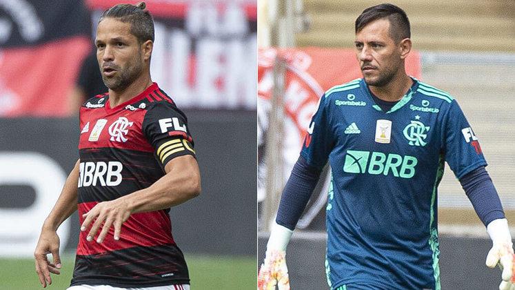 Na última segunda, Marcos Braz, vice-presidente de futebol do Flamengo, falou sobre o andar das negociações pelas renovações de Diego Ribas e Diego Alves - os dois únicos medalhões que encerram o vínculo em dezembro de 2020. O camisa 10 está por detalhes de assinar até o fim de 2021 e chegar ao