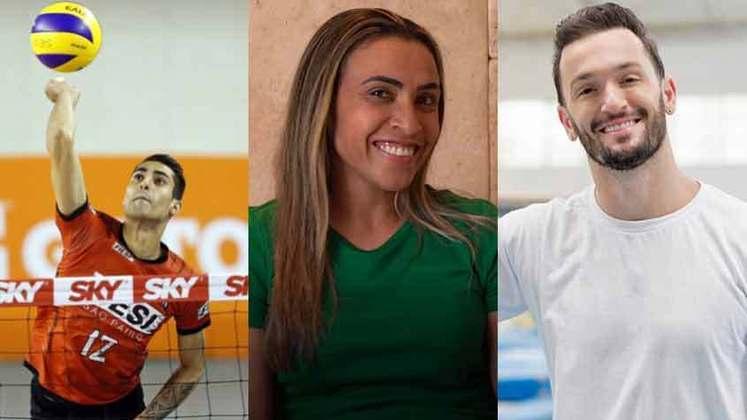 Na última semana, o jogador de vôlei Douglas Souza declarou durante uma live querer ser lembrado como o primeiro homossexual assumido a jogar em alto nível no Brasil. Relembre outros atletas e ex-atletas de expressão que também já levantaram a bandeira LGBT+.
