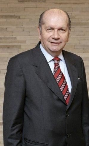 Nabil Sahyoun, presidente da Alshop, participa do simpósio