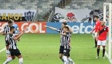 Argentinos brilham, Atlético-MG goleia Atlético-GO e sobe para 5º