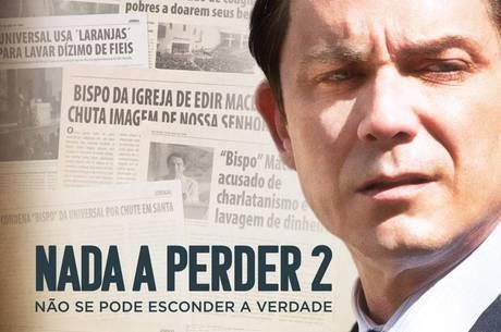 Petrônio Gontijo interpreta Edir Macedo