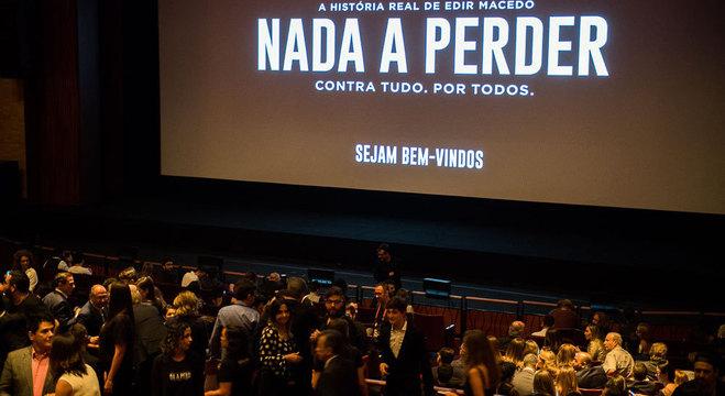 Pré-estreia do filme Nada a Perder, que aconteceu em março, em São Paulo