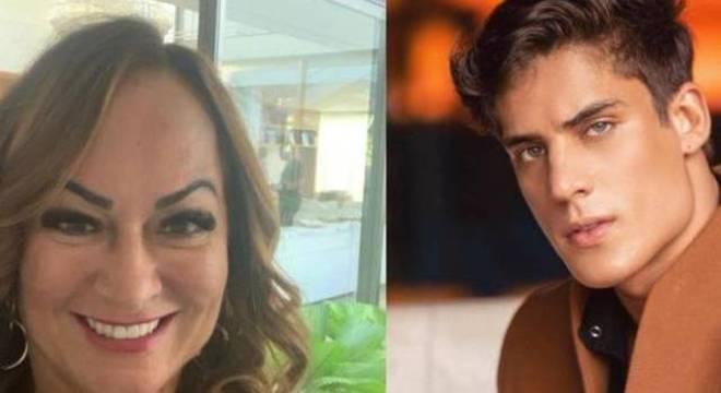 Nadine e Tiago teriam viajado juntos