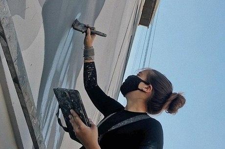 NaLata Festival exibe 15 artistas na pintura de murais