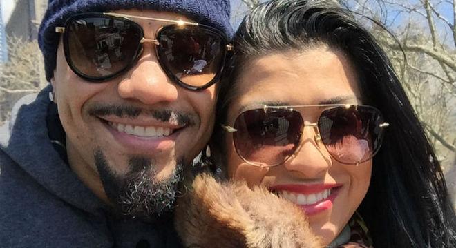 Naldo Benny foi denunciado pela própria mulher, Ellen Cardoso