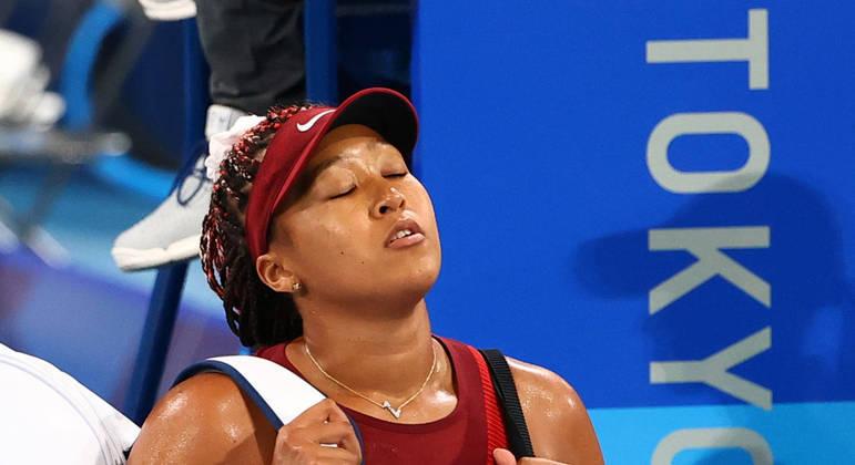 Japonesa Naomi Osaka foi derrotada pela checa Marketa Vondrousova  por 2 sets a 0