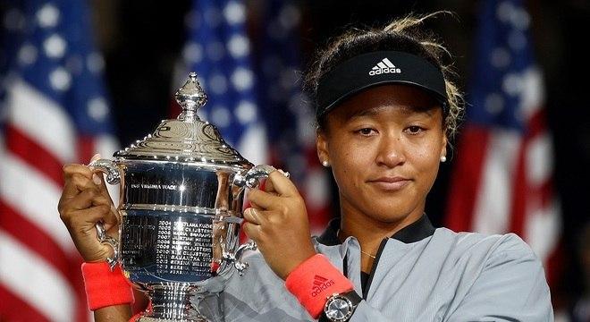 Com título, Naomi Osaka foi do 19º ao 7º lugar do ranking mundial