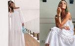 Maya Campos também é uma das adeptas do vestido, que por ser soltinho é perfeito para os dias quentes