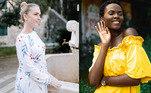 Para quem prefere tons menos apagados, o nap dress também pode ser usado em modelos estampados ou cores vibrantesQuarentena aproxima vizinhos e cria amizades: 'Rede de apoio'