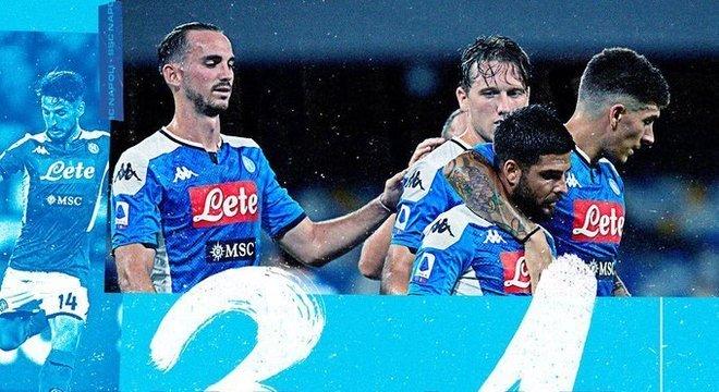 Napoli 3 X 1 Lazio