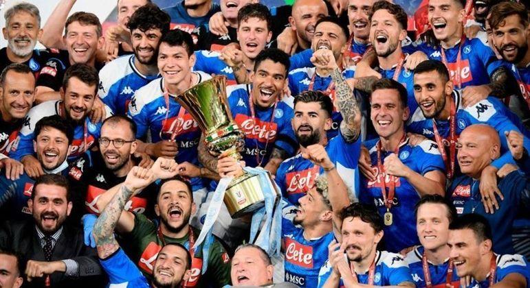 O Napoli, campeão de 2019/2020