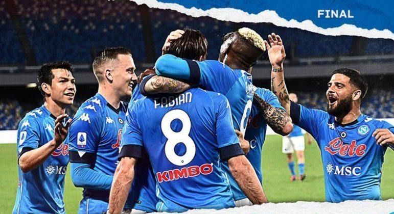 Napoli, uma euforia justíssima pela vitória sobre a Udinese