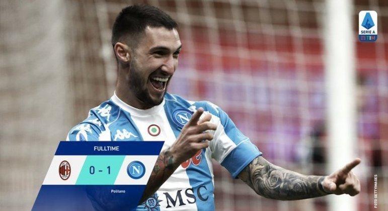 "Politano, o autor do gol que colocou o Napoli na ""Zona Champions"""