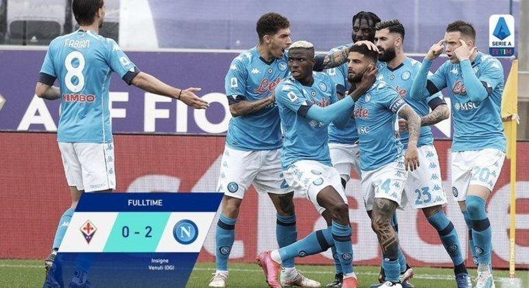O Napoli, um sucesso fundamental em Florença