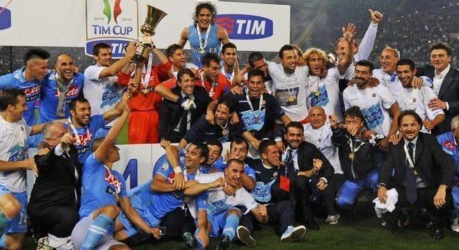 O Napoli campeão em 2014
