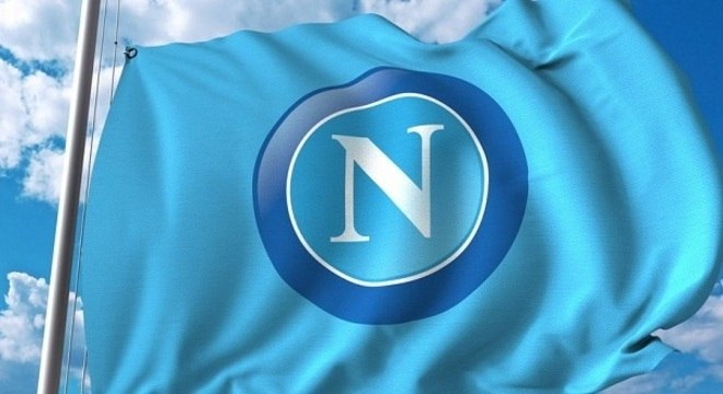A bandeira do Napoli