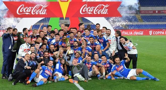 A festa do Napoli campeão da Copa Itália 2018/19