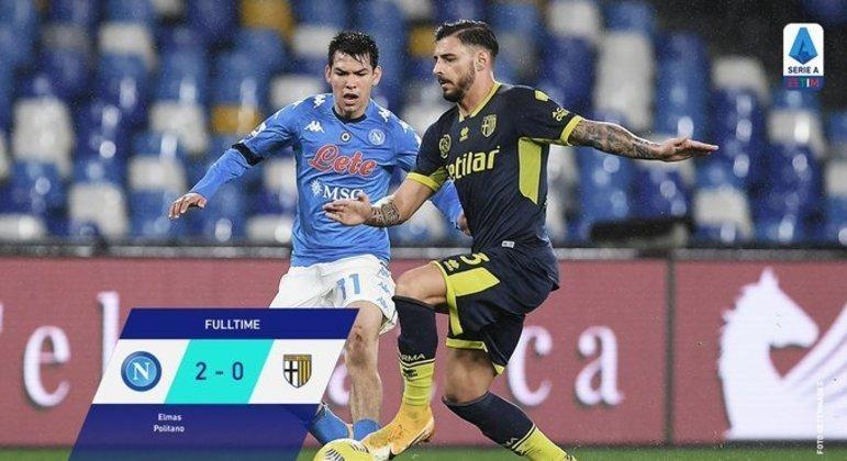 Napoli, Campeonato, Copa Itália e Liga Europa