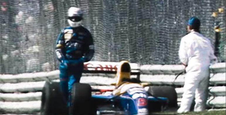 Naquela corrida, Mansell teve de ver Nelson Piquet triunfar
