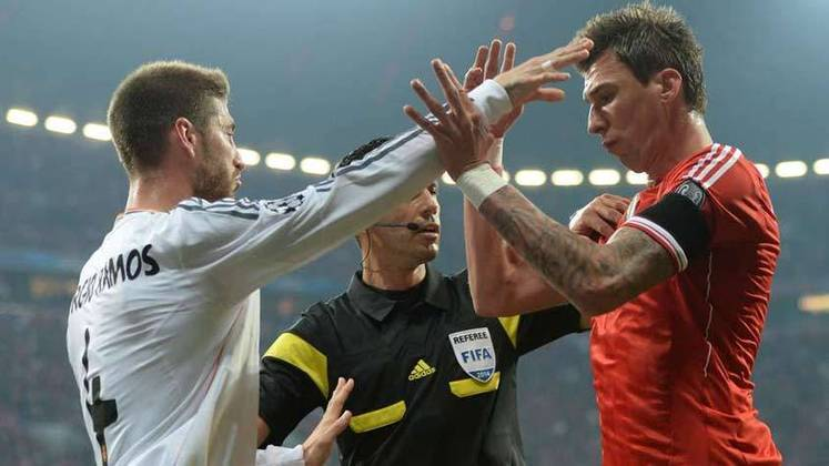Naquele jogo foram dois gols de Sergio Ramos e dois gols de Cristiano Ronaldo.