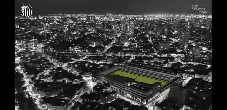 Nas condições atuais, como na ilustração, o estádio tem capacidade para 16 mil torcedores, mas com apenas 12 mil podendo comparecer em jogos, por conta de questões de segurança