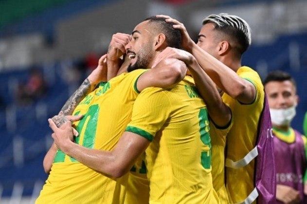 Nas quartas de final, o Brasil se comportou bem diante do Egito. O início foi marcado por uma marcação forte do adversário, mas com o tempo a equipe de André Jardine superou o bloqueio, não sofreu sustos e, apesar do 1 a 0, conquistou uma classificação tranquila
