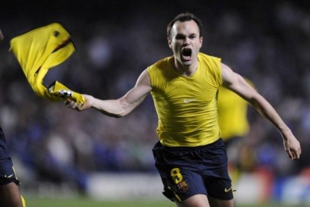 Nas semifinais de 2009 houve um empate sem gols na ida, na Espanha. No choque de volta Iniesta marcou nos acréscimos da segunda etapa e a igualdade por 1 a 1 classificou o Bar