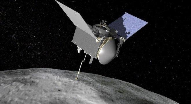 Osiris-Rex, sonda espacial da Nasa lançada em setembro de 2016