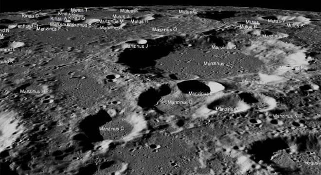 Vikram, a sonda indiana, pode estar em algum lugar desta foto feita pela Nasa