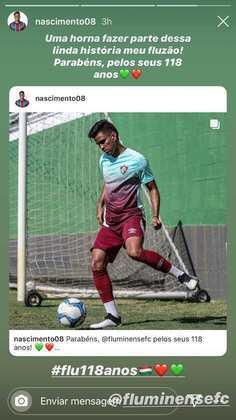 Nascimento, formado pelo Fluminense.