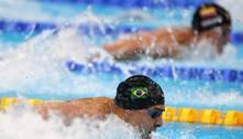 Brasil sofre com rivais e tem quatro eliminações na natação em Tóquio