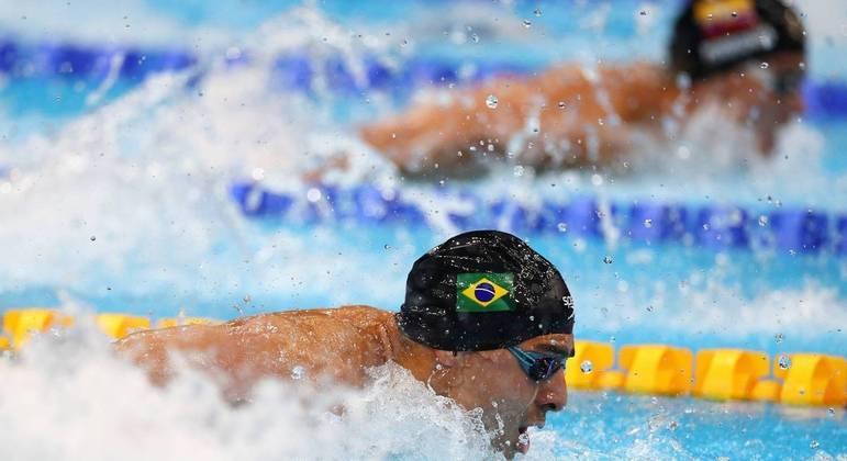Etiene Medeiros, Guilherme Costa e Bruno Fratus nadarão nesta sexta