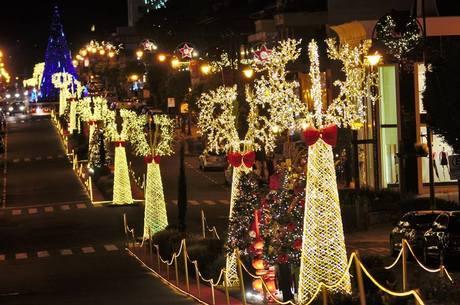 Natal em Gramado (RS) tem recursos via Lei Rouanet