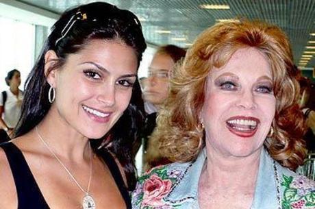 Natália Guimarães e Martha Rocha