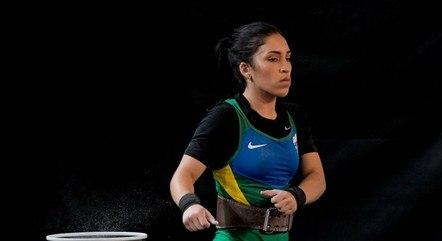 Natasha Rosa; divulgação; levantamento de peso