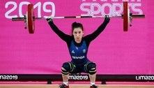Brasileira do levantamento de peso pega no doping irá à Olimpíada