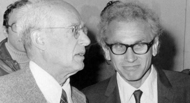 Nathan Rosen (1909-1995, esq.) foi assistente de Einstein em Princeton entre 1934 e 1936