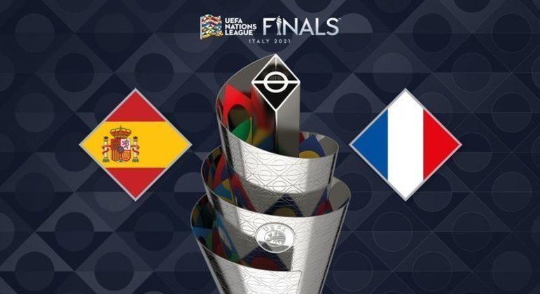 As seleções em luta pela taça da Nations League