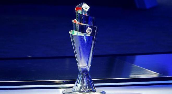 O lindo troféu da Liga das Nações
