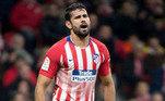Naturalizado espanhol, Diego Costa atuou pela Espanha em duas Copas do Mundo (2014 e 2018). O atacante está sem clube desde que rescindiu com o Atlético de Madrid, em dezembro de 2020.